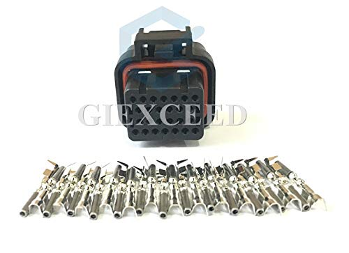 2 Sets 26 Pin AMP Tyco 1.0mm Series ECU Automotive Connector Electrical Connector Fits Suzuki -