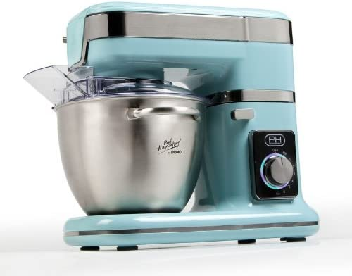 Domo DO9076KR 1000W 4.5L Turquesa - Robot de cocina (4,5 L, Turquesa, Acero inoxidable, Acero inoxidable, Acero inoxidable, 1000 W): Amazon.es: Hogar
