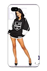 High Quality Deyimh-6644-zemedxv Los Angeles Kings Nhl Hockey Los Angeles Kings Cheerleader Sexy Babe PC Case For Iphone 4/4s