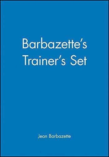 Barbazette's Trainers Set, (3 Volume Set) - Barbazettes Trainers