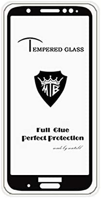 YINZHI Screen Protector Film Black Color : Black Clear 25 PCS Full Screen Full Glue Anti-Fingerprint Tempered Glass Film for Motorola Moto G6 Plus