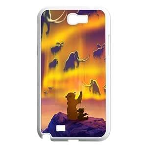 (GDJA) Brother Bear 2 Samsung Galaxy N2 7100 Cell Phone Case White