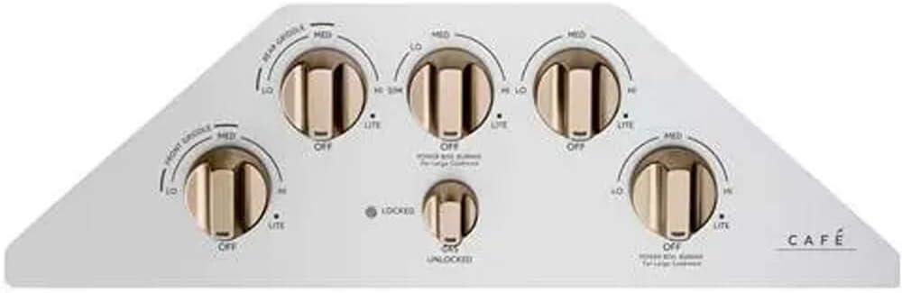 GE CGP95363MS2 36 Inch Gas Cooktop