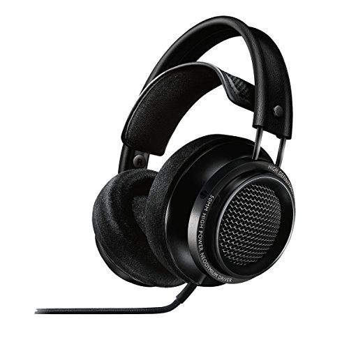 Philips X2/27 Fidelio Premium Headphones, Black