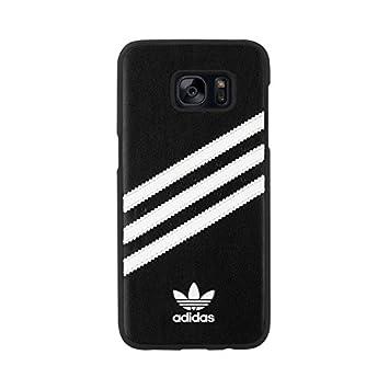 adidas 25095 Funda para teléfono móvil Negro, Blanco - Fundas para teléfonos móviles (Funda, Samsung, Galaxy S7 Edge, Negro, Blanco)