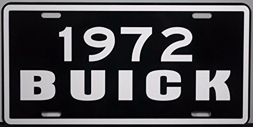 1972 BUICK METAL LICENSE (Buick Lesabre Wagon)