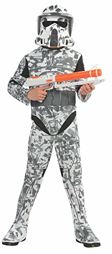Rubies Star Wars Clone Wars Child's Arf Trooper Costume and Mask, Medium -