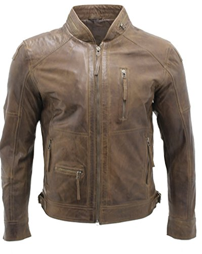 Mens Leather Motorcycle Jackets Sale - 6