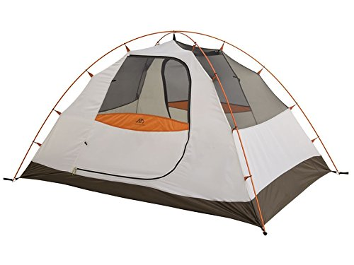 ALPS Mountaineering Lynx 2 Dome Tent 5' x 7'6'' x 3'10'' Polyester Brown, Orange and White