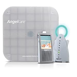 BEBÉ DUE AngelCare Intercomunicador Táctl Vídeo, Audio y Movimiento DECT (Platinum Edition) (AC1100)