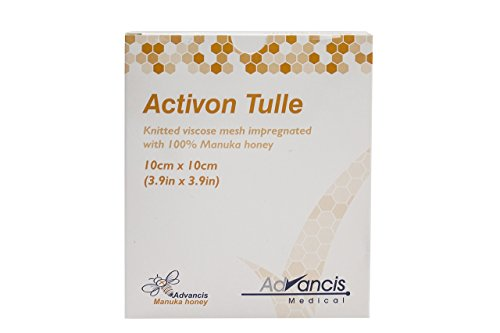 Activon Tulle, 3.9in x 3.9in, Pack of 5