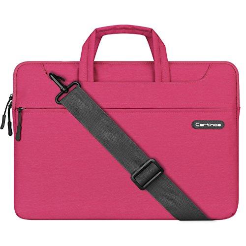 - Cartinoe Laptop Shoulder Bag 14 inch, 15 Inch Laptop Briefcase Protective Bag for MacBook Touchbar 15, Water Repellent Computer Sleeve Case Messenger Bag for Business/College/Women/Men, Rose