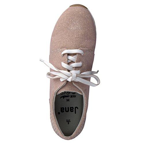 Jana 8-8-23601-28/521-521 - Zapatos de cordones para mujer 521ROSE