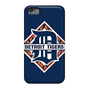 Durable Cell-phone Hard Cover For Apple Iphone 6 With Provide Private Custom Fashion Baseball Detroit Tigers Pattern WayneSnook