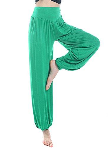 ABUSA Women's Loose Fitness Harem Dance Yoga Pants 2X-Large