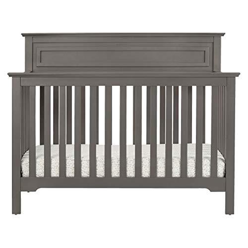 41UXNtb3clL - DaVinci Autumn 4-in-1 Convertible Crib In Slate, Greenguard Gold Certified