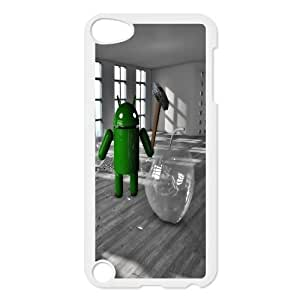 Android Smashing The Glass Apple Funny iPod TouchCase White VC109484