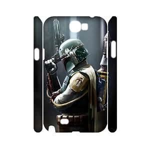 YYCASE Samsung Galaxy Note 2 N7100 case Star Wars,Customized Hard 3D Case