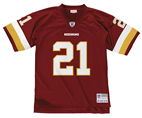 Mitchell & Ness Washington Redskins Sean Taylor Throwback Replica Jersey (Large)