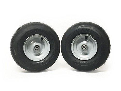 (2) Dixie Chopper 13x5.00-6 Pneumatic Tire Assemblies Replaces part 10202