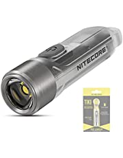 NITECORE Tiki Oplaadbare Sleutelhanger Zaklamp 300 Lumen Mini LED Pocket Sleutelhanger Zaklamp