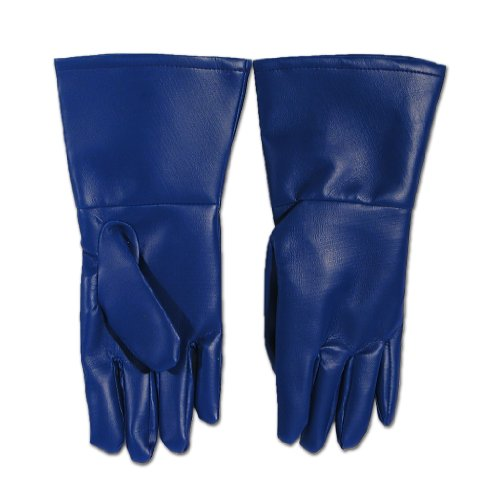 Hero/villain Costume Ideas (Superhero Costume Gloves (Blue))