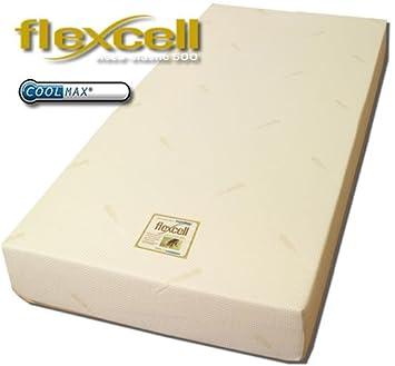 500 Flexcell Coolmax colchón de espuma con efecto memoria 20 cm Profundidad de 5 cm visco