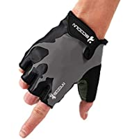 ZEWLLY Cycling Gloves Riding Bike Gloves s Half Finger Shock Absorbing Breathable Anti Slip