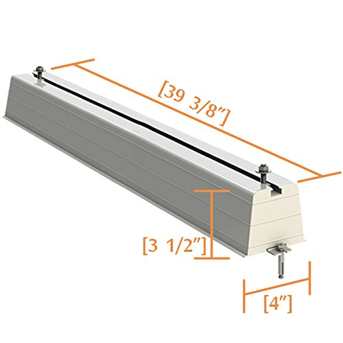 Homydom PVC Ground Mounting Stand Support for Heat Pump Air Conditioners