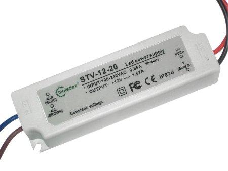 BIOLEDEX transformador para bombillas LED - 12 V 20 W DC: Amazon.es: Iluminación