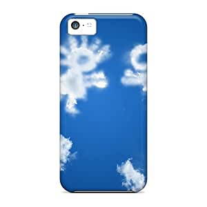 Favorcase Iphone 5c Well-designed Hard Cases Covers Loving Clouds Protector