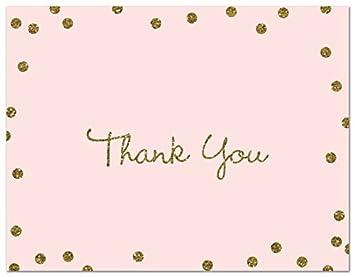 amazon com 50 cnt faux gold glitter graphic confetti thank you