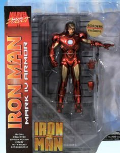 Marvel Select Iron Man 2 MARK IV ARMOR EXCLUSIVE Action Figure 2010