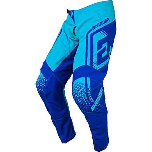 Answer Racing A19 Syncron Drift Youth Boys Off-Road Motorcycle Pants - Astana/Reflex Blue / 24