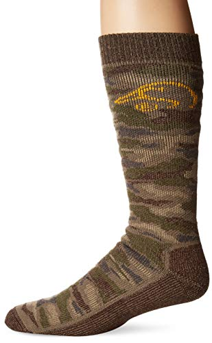 Ducks Unlimited Men's Tall Merino Wool Boot Socks, Camo, X-Large ()