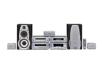 Technics SC de EH 670 Amplificador de sistema con sistema de altavoces (3 cajas y
