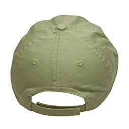 Youth Washed Chino Twill Cap-Apple Green OSFM