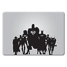 The Justice League Apple Macbook Decal Vinyl Sticker Apple Mac Air Pro Retina Laptop sticker