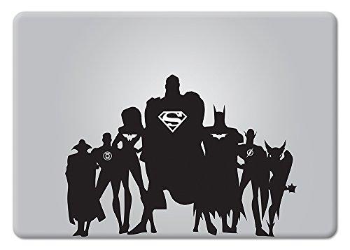 The Justice League Apple Macbook Decal Vinyl Sticker Apple M