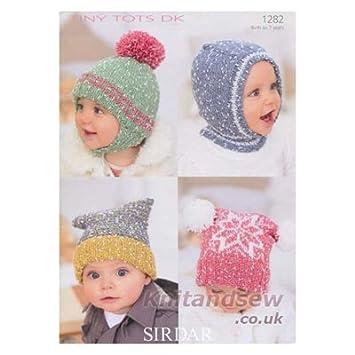 Sirdar Tiny Tots Dk Knitting Pattern 1282 Amazon Baby