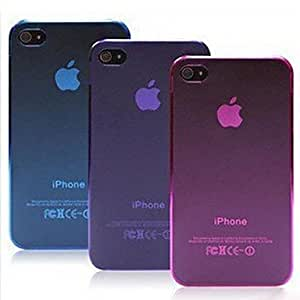 LCJ Ultrathin Dull Polish Back Case for iPhone 4/4S (Assorted Color) , Rose by ruishername