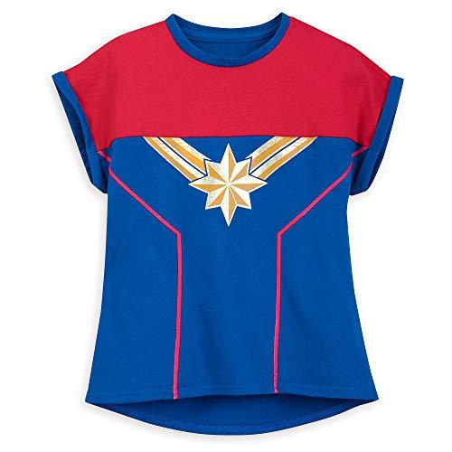 Marvel Captain Shirt for Girls Size L (10/12) Multi
