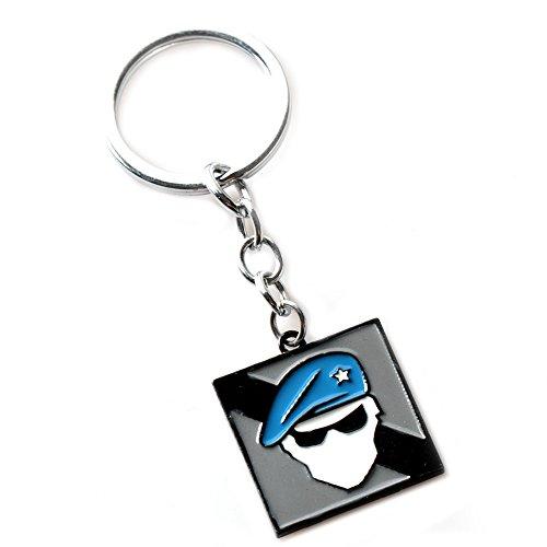 yehert Rainbow Six Siege Auto Keychains Alloy Pendant (#12)