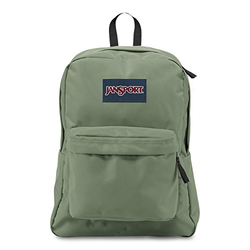 JanSport Superbreak Backpack - Muted Green - Classic, Ultralight ()