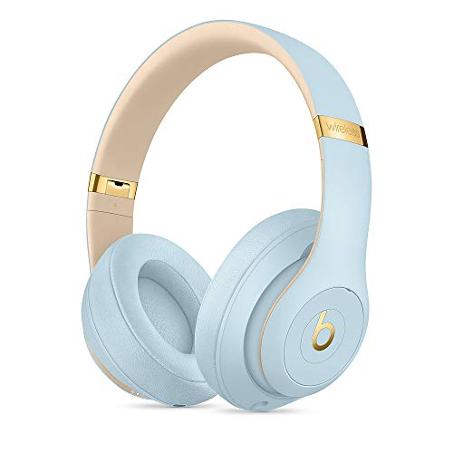 Beats Studio_3 Wireless Headphones The Skyline Collection with Carrying Case (Crystal Blue)