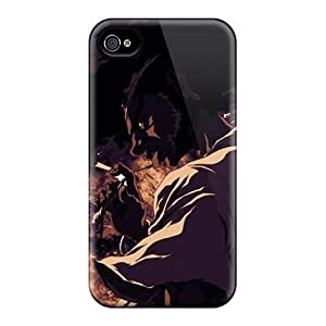 Iphone 4/4s Cover Case - Eco-friendly Packaging(afro Samurai)
