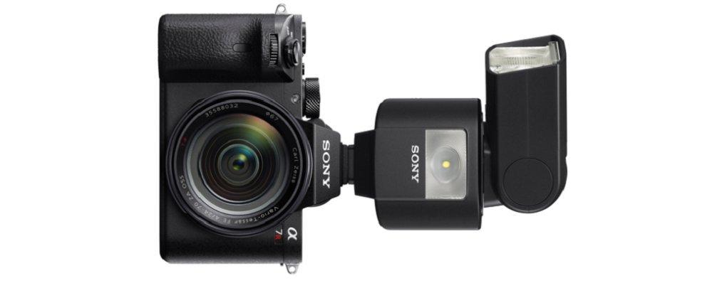 wireless, Luce LED per foto e video nero. Sony HVL-F45RM Flash esterno con comando a distanza senza fili