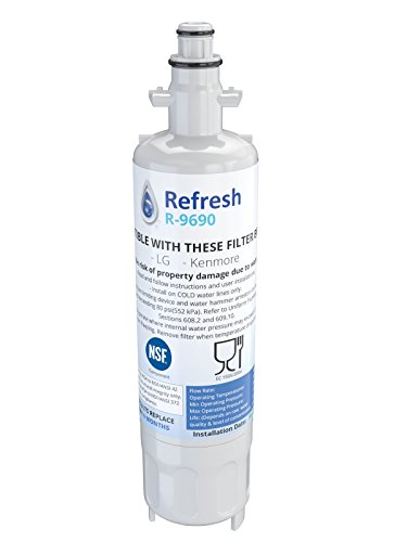 Refresh Replacement Refrigerator Water