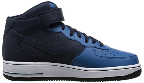 Nike Air Force 1 Mid 07, Scarpe da Basket Uomo Multicolore (Obsidian/Obsdn/Brgd Bl/White)