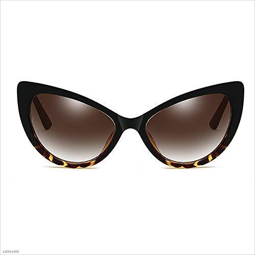 borde de Gafas de de personalidad PC retro estilo de de con sol sol Gafas de conducción marco de sol Gafas sol protección de Gafas Marrón clásico 100 UV Polarizado de protección de sol de la Gafas de UV vq0xpP
